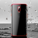 Luxury High-end Fashion Transparent Plated Case for OnePlus 6T