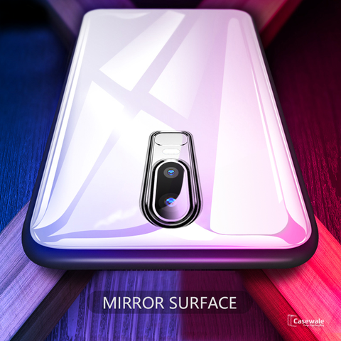 Luxury Slim Tempered Glass Case for OnePlus 6T