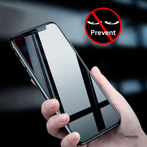 Baseus Anti- Spy Privacy Tempered Glass for iPhone XS Max