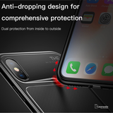 Baseus Luxury Silicone Hybrid Armor Case For iPhone X