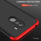 360 Protection Hard Phone Case for Mi Poco F1 [100% Original GKK]