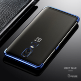 Luxury High-end Fashion Transparent Plated Case for OnePlus 6
