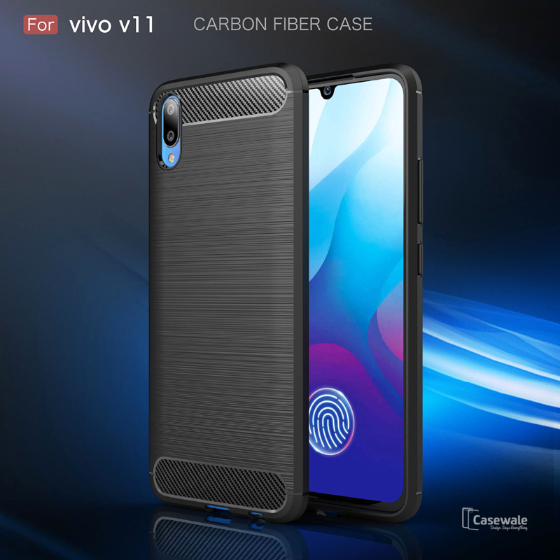 Luxury Ultra-thin Carbon Fiber Case For Vivo V11 Pro