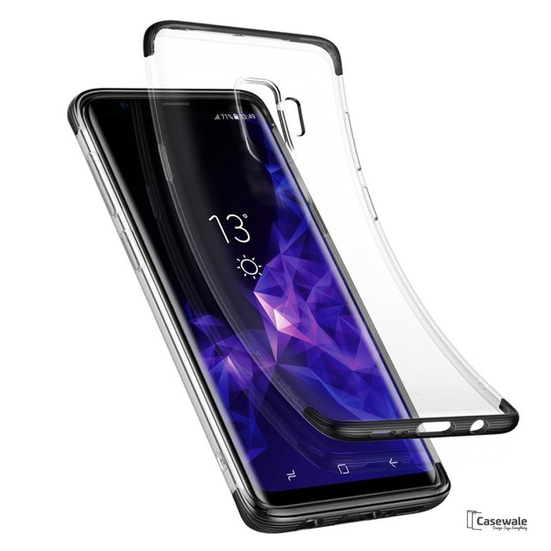 Baseus Luxury Shockproof Transparent Case for Galaxy S9 S9 Plus