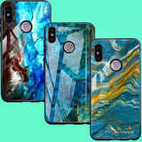 Luxury Majestic Pattern Glass Case for Redmi Note 6 Pro