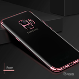 Luxury Electroplating Ultra-thin Transparent Case For Galaxy A8 Plus