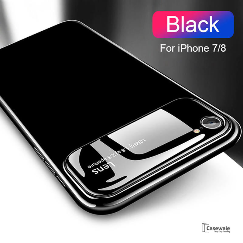 pretty nice 89473 bfa87 Luxury Smooth Ultra Thin Mirror Effect Case for iPhone 7/8, 7/8 Plus