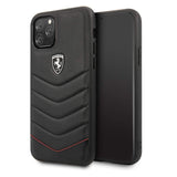 Ferrari Heritage Quilted Leather Hard Case for iPhone 11 Series