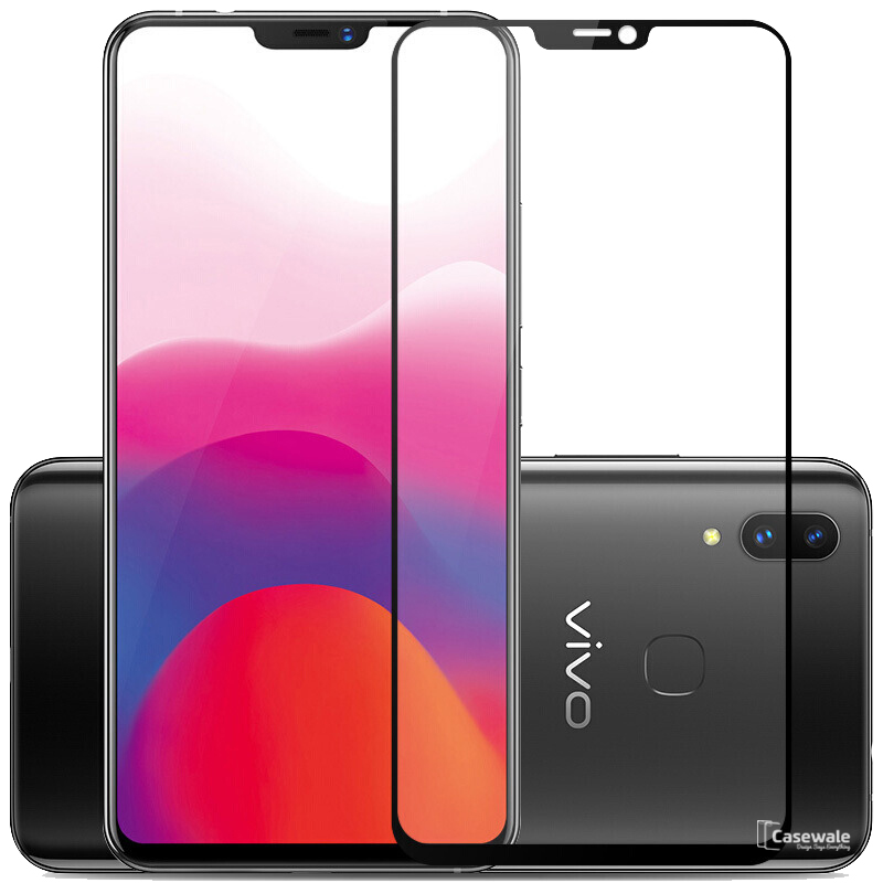 5D Curved Tempered Glass Screen Protector for Vivo X21