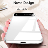 Luxury Smooth Ultra Thin Mirror Effect Case For iPhone X