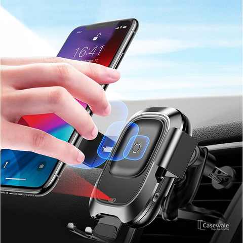 Baseus Sensor Car Mount Wireless Charger for iPhone