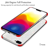 Luxury Marble Pattern Tempered Glass Case for Oneplus 5T