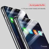 iPhone X 3D Tempered 0.3mm Ultra Thin 9H Full Screen Coverage Glass