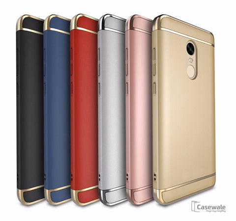 Anti knock Electroplated Ultra-thin Case for Redmi Note 4