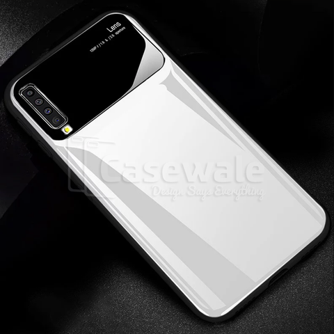 Luxury Smooth Mirror Effect Ultra Thin Case for Galaxy A9 2018