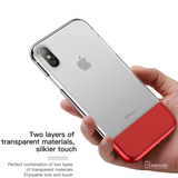 Baseus Half Transparent Case For iPhone XS