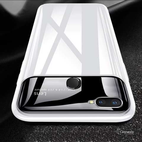 Luxury Smooth Ultra Thin Mirror Effect Case for Oppo F9 Pro