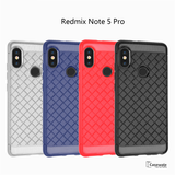 Ultra Thin Grid Weaving Case for Redmi Note 5 Pro
