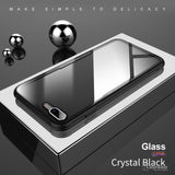 Original Back Tempered Glass Transparent Case For iPhone 7, 7 Plus