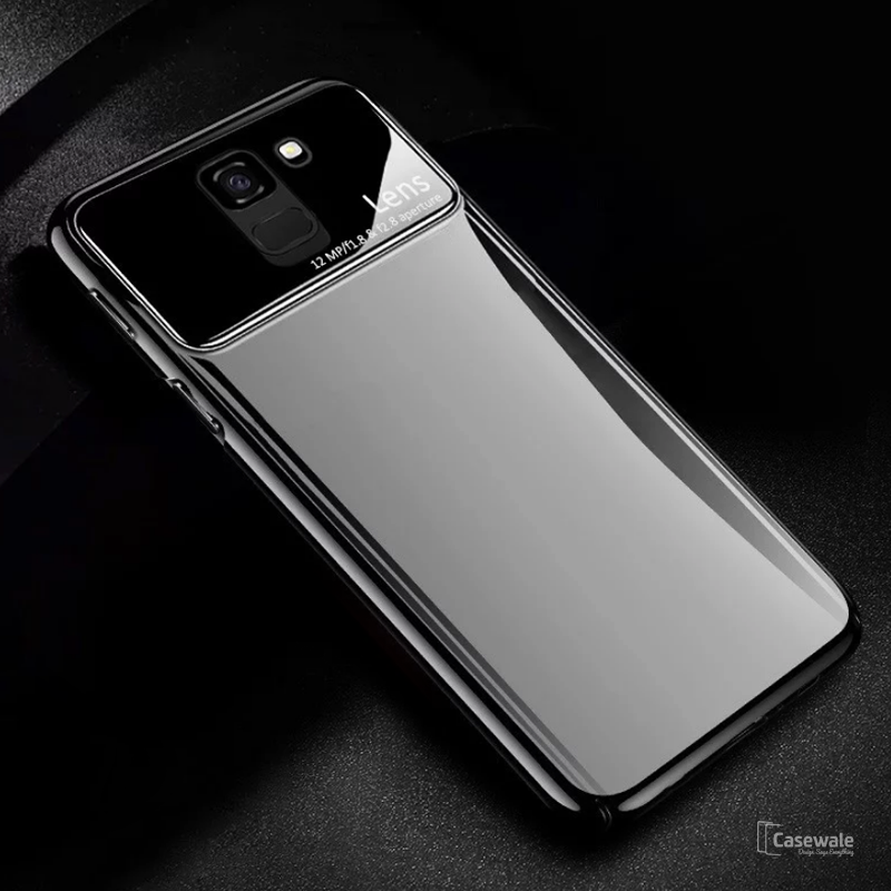 Luxury Smooth Ultra Thin Mirror Effect Case for Galaxy J6