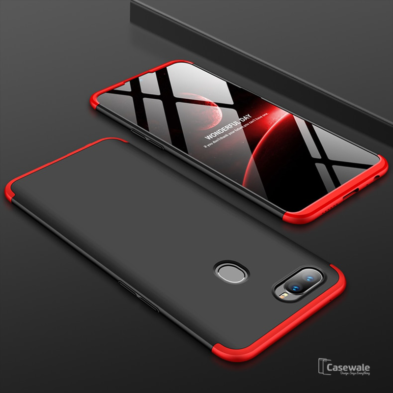 info for f857b 4e399 3 in 1 Ultimate 360 Degree Protection Case for Oppo F9 Pro
