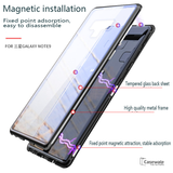 Electronic Auto-Fit Magnetic Glass Back Case for Galaxy Note 9