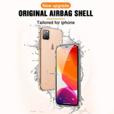 Transparent Safety Airbags Shockproof Case for Apple iPhone