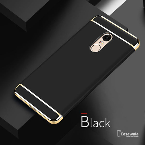 big sale 7f252 0f2c1 Luxury 3 in 1 Electroplating Case for Redmi Note 5