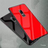 Luxury Slim Tempered Glass Phone Case for OnePlus 6