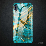Luxury Majestic Pattern Glass Case for Vivo V11 Pro