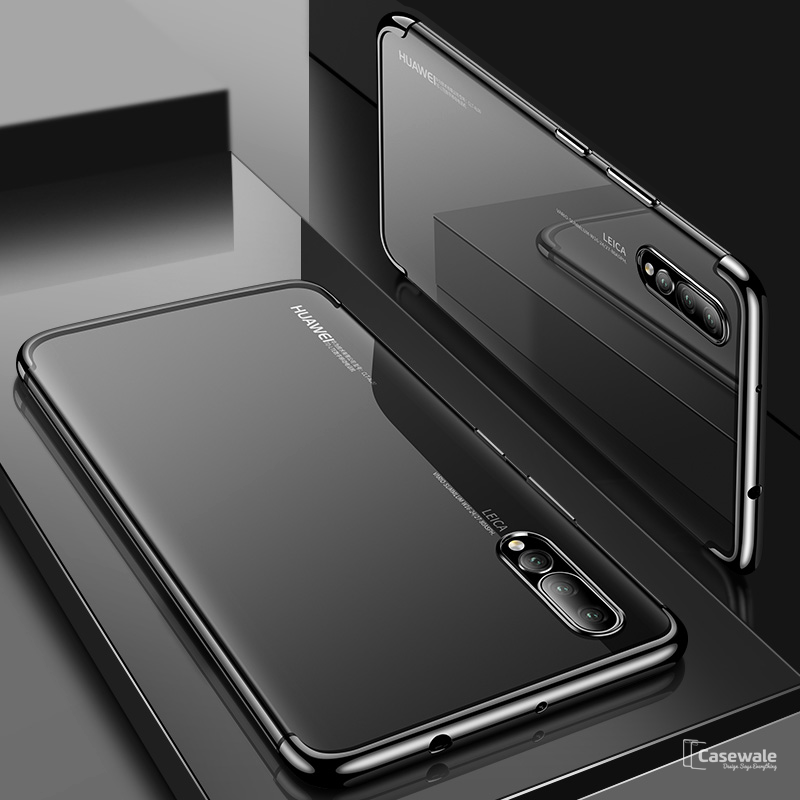 buy online 40bef 6c1bf Luxury High-end Transparent Phone Case for Huawei P20 Pro