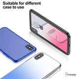 iPhone X 9H Gradient Back Tempered Glass