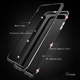 Electronic Auto-Fit Magnetic Glass Case for OnePlus 7