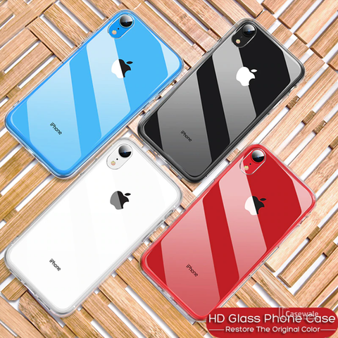 Luxury Shockproof Bumper Transparent Silicone Case For iPhone XS Max