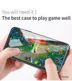 Luxury Smooth Hard Plastic Creative Hollow Case For iPhone X