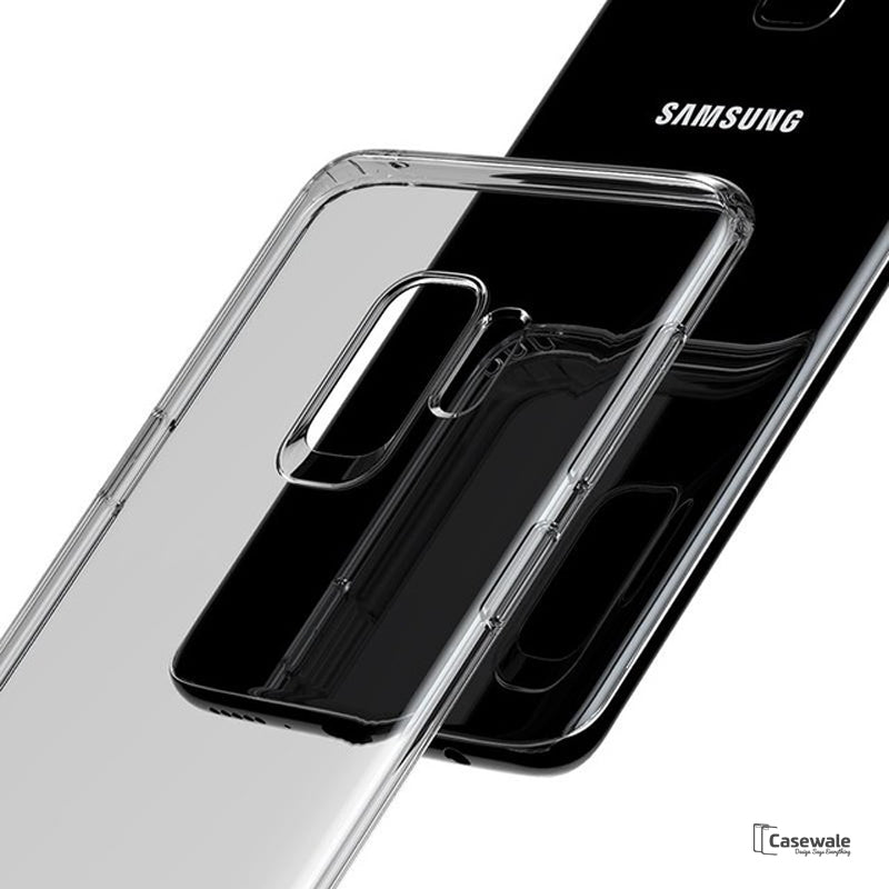 separation shoes dc9bc c9b3f Baseus Ultra Thin Transparent Silicone Case for Galaxy S9 / S9 Plus