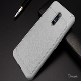 Luxury V TPU Leather Full Protection Phone Case for OnePlus 6