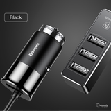 Baseus 4 Fast 5.5A USB Car Charger for iPhone Samsung