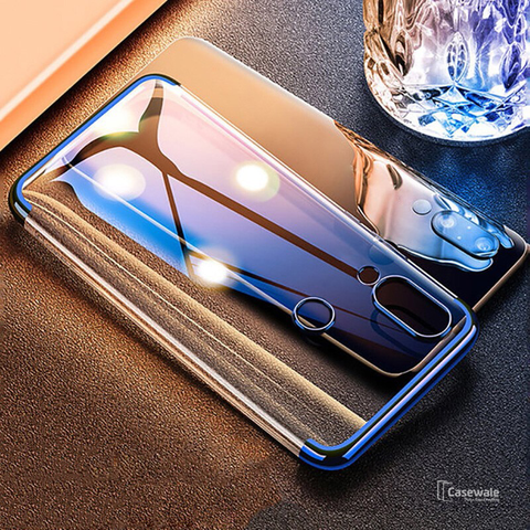 High-end Fashion Transparent Case for Redmi Note 7 & Note 7 Pro