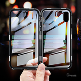 Double Sided Tempered Glass Magnetic Case for iPhone XS