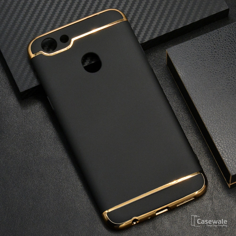 cheaper 86d44 c3d41 Oppo F5 Ultra Thin Electroplated Gold Plating Case