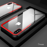 Luxury Transparent Glass Case For iPhone X [Best Selling Case]