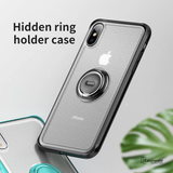 Baseus Ring Holder Stand Back Case For iPhone XS Max