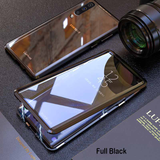 LUPHIE Double Glass 2nd Generation Magnetic Glass Case for Galaxy A70 [100% Satisfation Guaranteed]