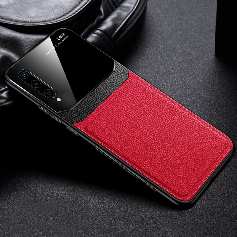 Leather Lens Luxury Card Holder Case For Galaxy A50/A50s/A30s