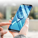 Original 5D Curved Edge Tempered Glass for Galaxy A8 Plus