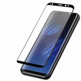 Original 5D Curved Edge Tempered Glass for Galaxy A9 2018