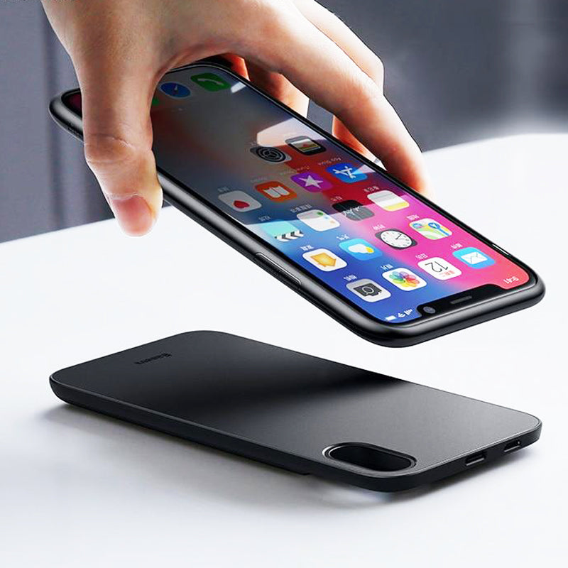 new concept 7edee 4fc41 Baseus 5000mAh Wireless Charger Case For iPhone X