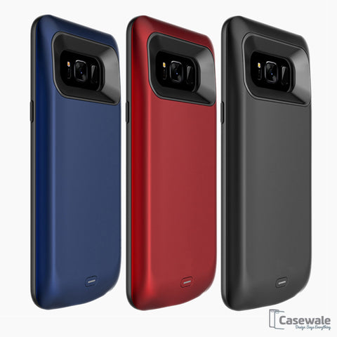 Samsung Galaxy S8/ S8 Plus External Battery Backup Charging Case