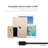 Flexible Elastic 8pin USB Charging Cable for iPhone